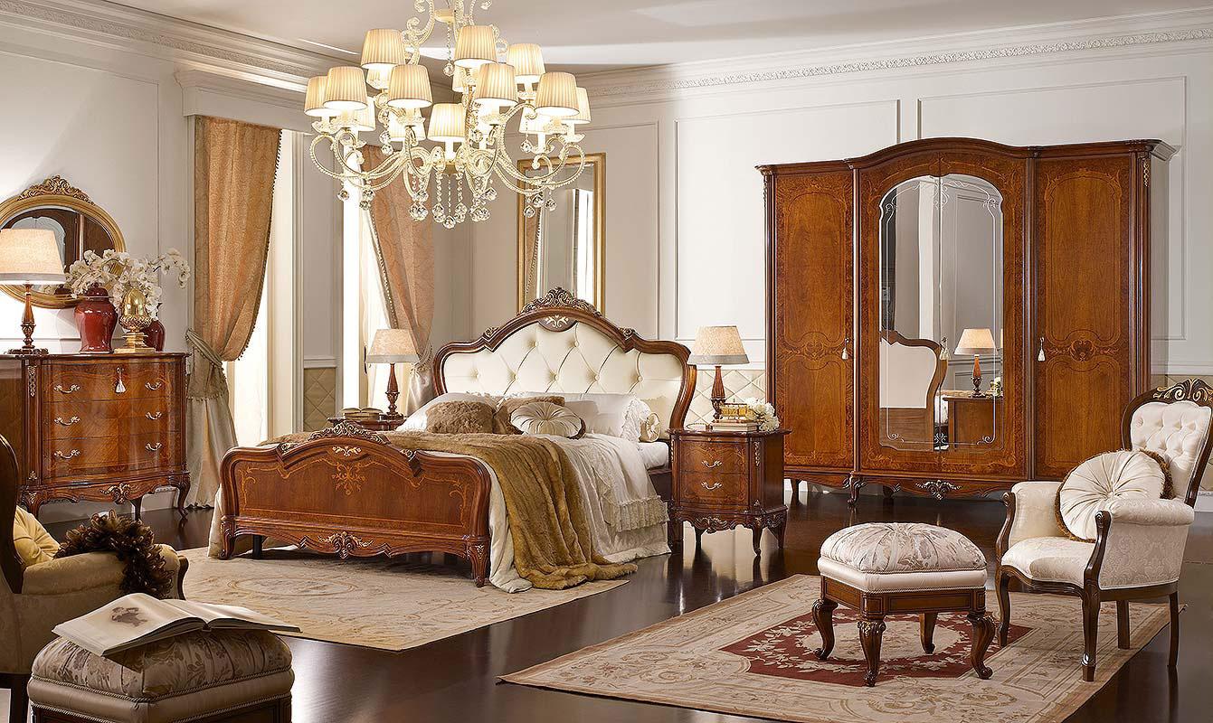 camera da letto  classica noce vsn arredamenti catania